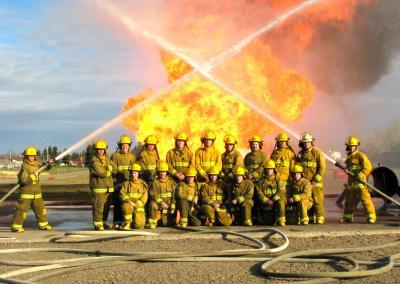 Fire class hoses crossed