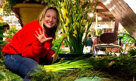 Local Florist Shares Rose Bowl Parade Experience